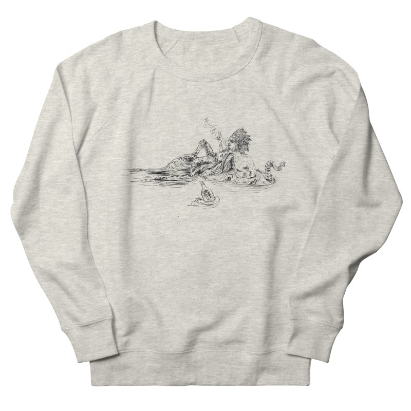 Castaway Women's French Terry Sweatshirt by ILLnoise