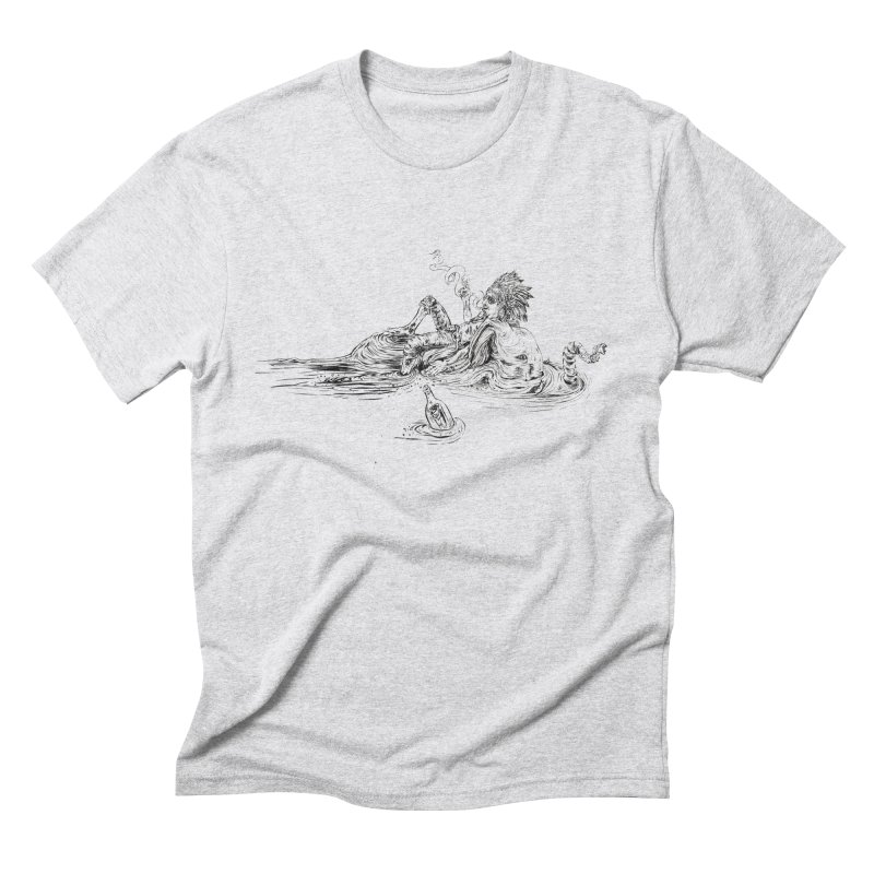 Castaway Men's Triblend T-Shirt by ILLnoise
