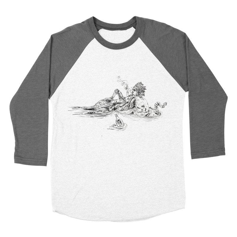 Castaway Men's Baseball Triblend Longsleeve T-Shirt by ILLnoise