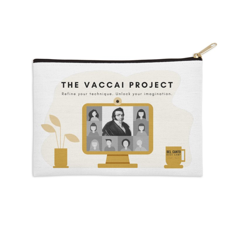 The Vaccai Project Accessories Zip Pouch by belcantobootcamp's Artist Shop