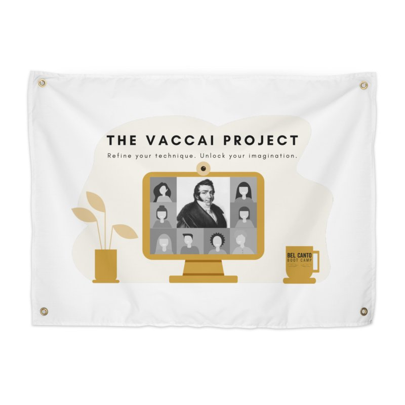 The Vaccai Project Home Tapestry by belcantobootcamp's Artist Shop