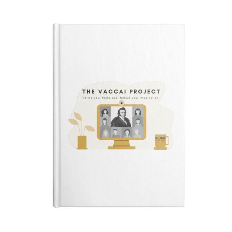 The Vaccai Project Accessories Notebook by belcantobootcamp's Artist Shop