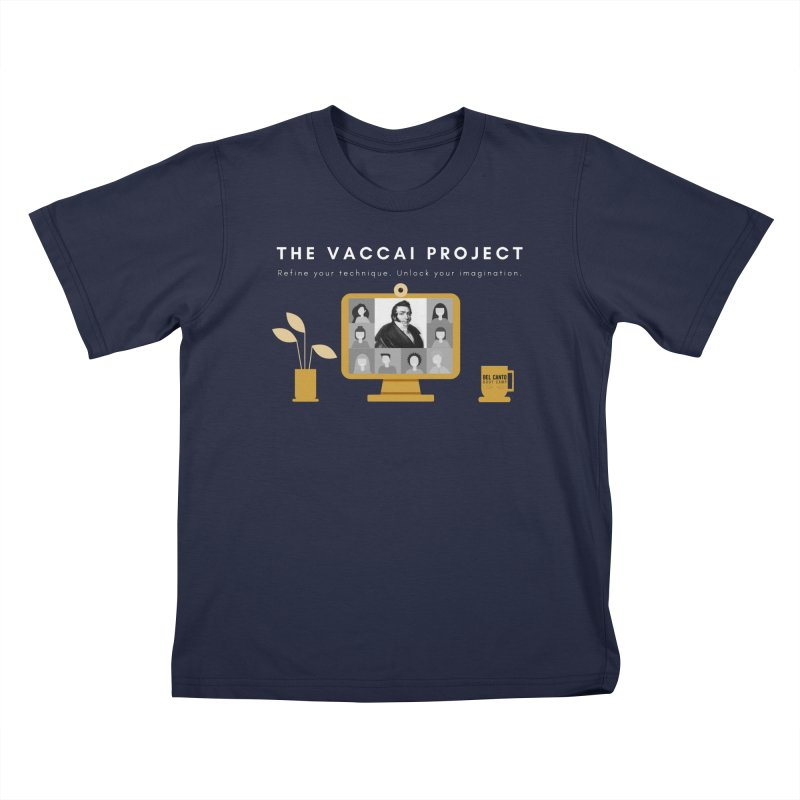 The Vaccai Project Kids T-Shirt by belcantobootcamp's Artist Shop