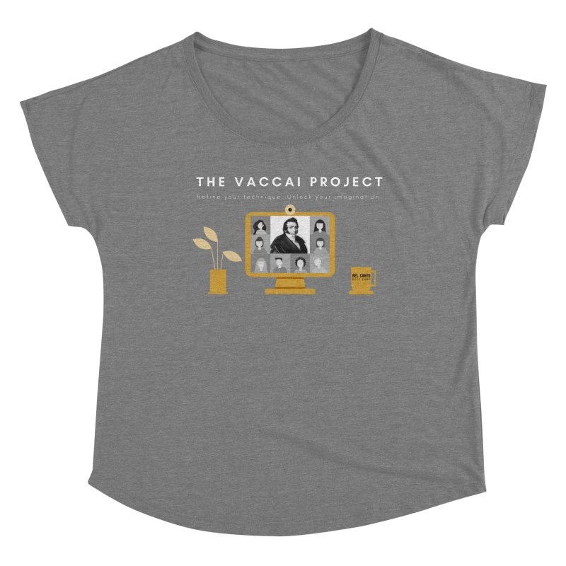 The Vaccai Project Women's Scoop Neck by belcantobootcamp's Artist Shop