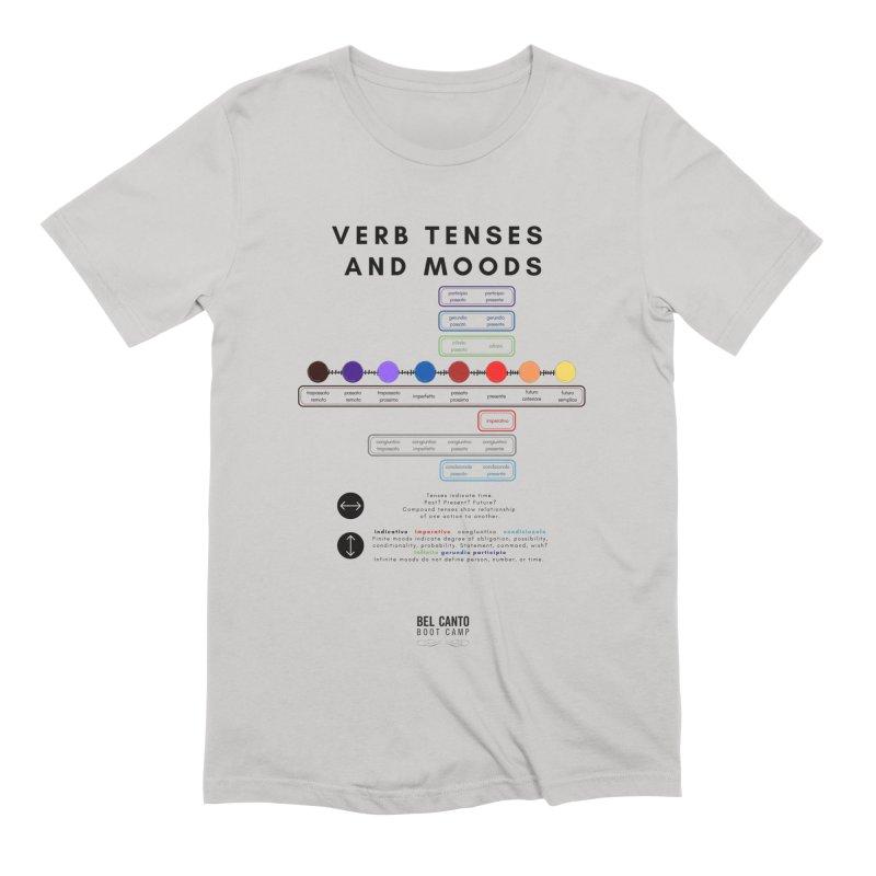 Verb tenses Men's T-Shirt by belcantobootcamp's Artist Shop