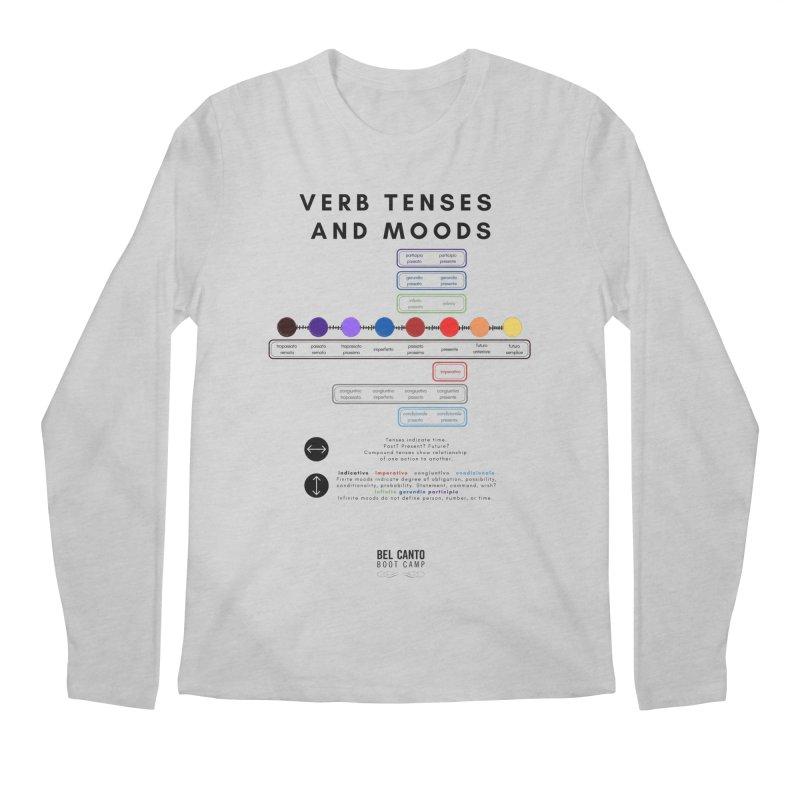 Verb tenses Men's Longsleeve T-Shirt by belcantobootcamp's Artist Shop
