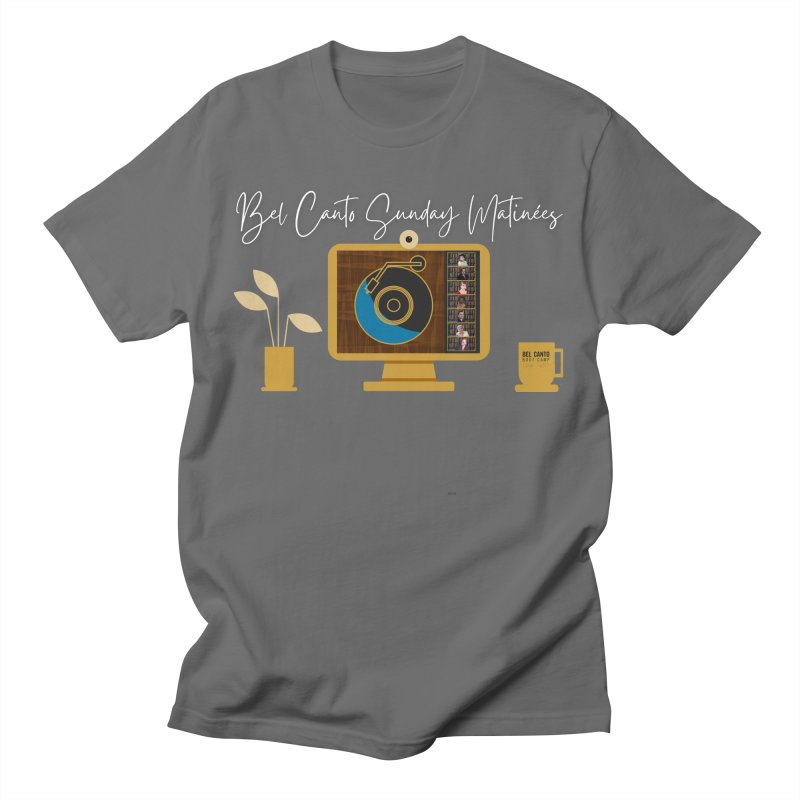 Sunday Matinées Men's T-Shirt by belcantobootcamp's Artist Shop