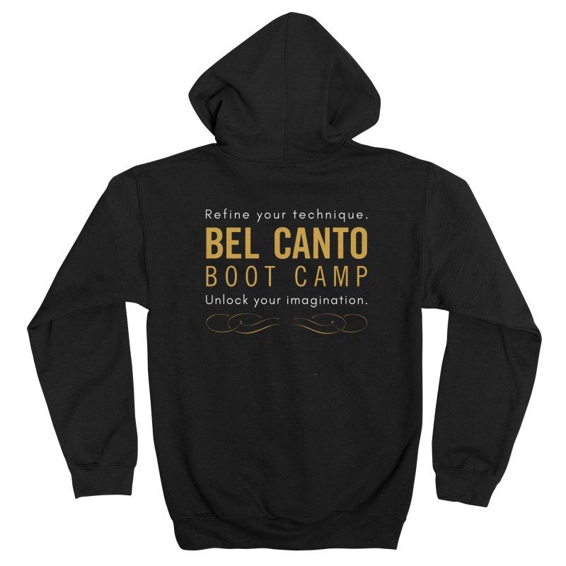 BCBC - Refine your technique, unlock your imagination Men's Zip-Up Hoody by belcantobootcamp's Artist Shop