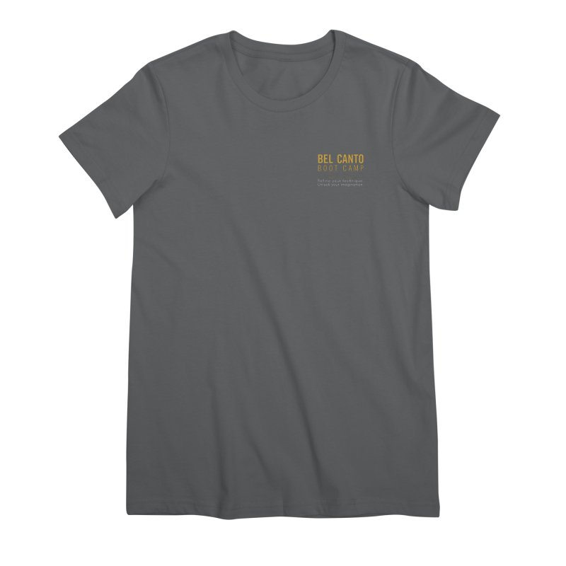 Small logo BCBC shirt Women's T-Shirt by belcantobootcamp's Artist Shop