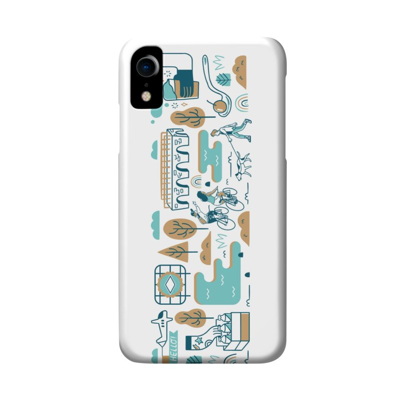 A Day in the Life Accessories Phone Case by bellyup's Artist Shop