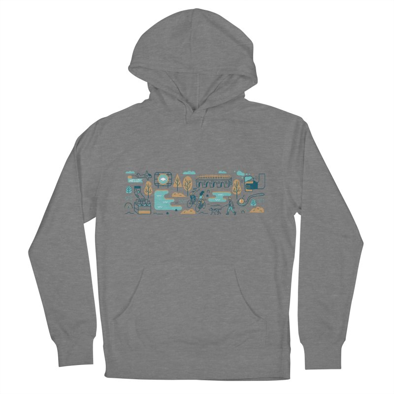 A Day in the Life Women's Pullover Hoody by bellyup's Artist Shop