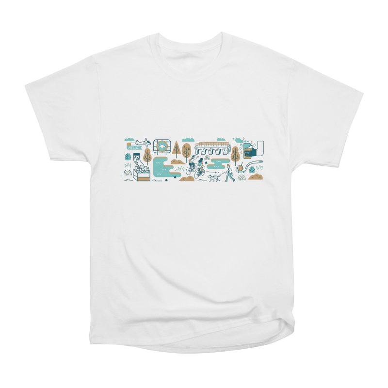 A Day in the Life Men's Heavyweight T-Shirt by bellyup's Artist Shop
