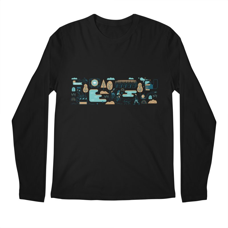 A Day in the Life Men's Regular Longsleeve T-Shirt by bellyup's Artist Shop