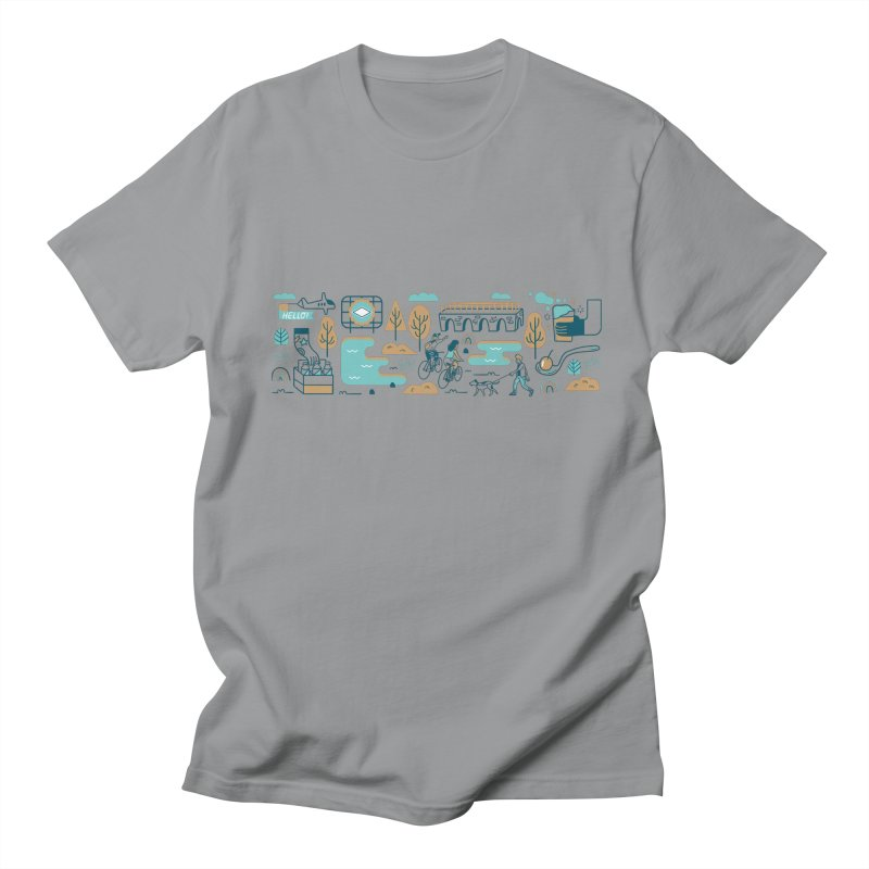A Day in the Life Men's T-Shirt by bellyup's Artist Shop
