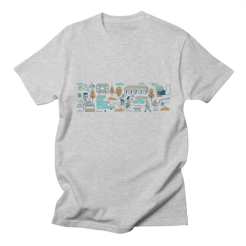 A Day in the Life Women's Regular Unisex T-Shirt by bellyup's Artist Shop