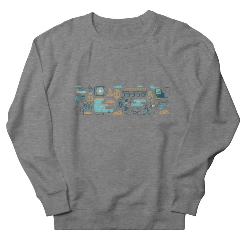 A Day in the Life Women's Sweatshirt by bellyup's Artist Shop