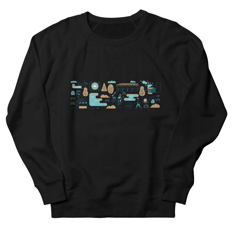 A Day in the Life Men's Sweatshirt by bellyup's Artist Shop