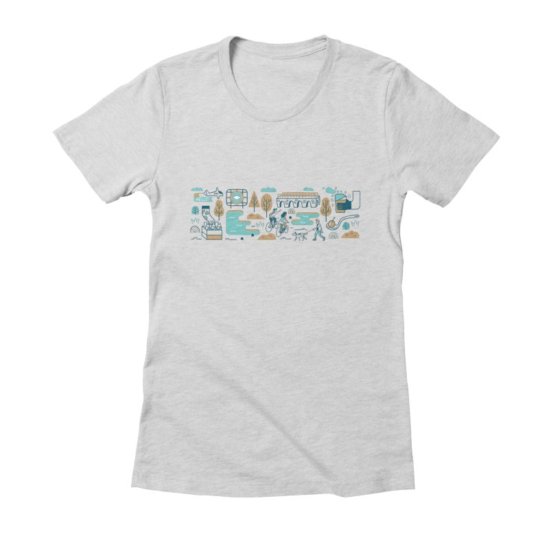 A Day in the Life Women's T-Shirt by bellyup's Artist Shop