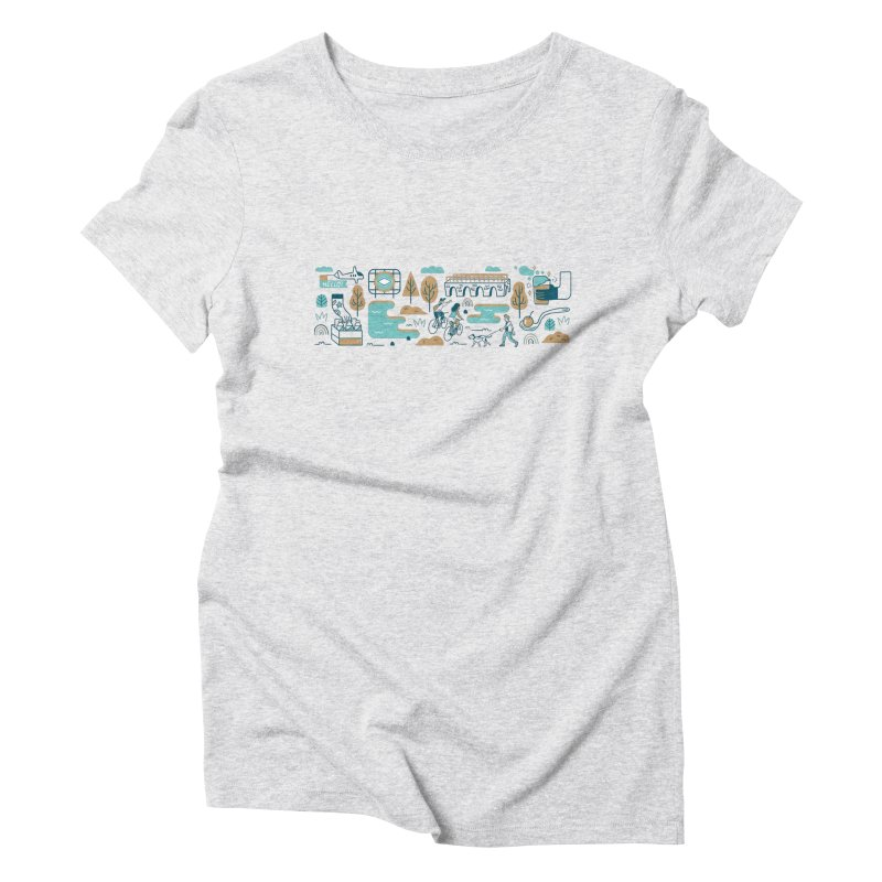 A Day in the Life Women's Triblend T-Shirt by bellyup's Artist Shop