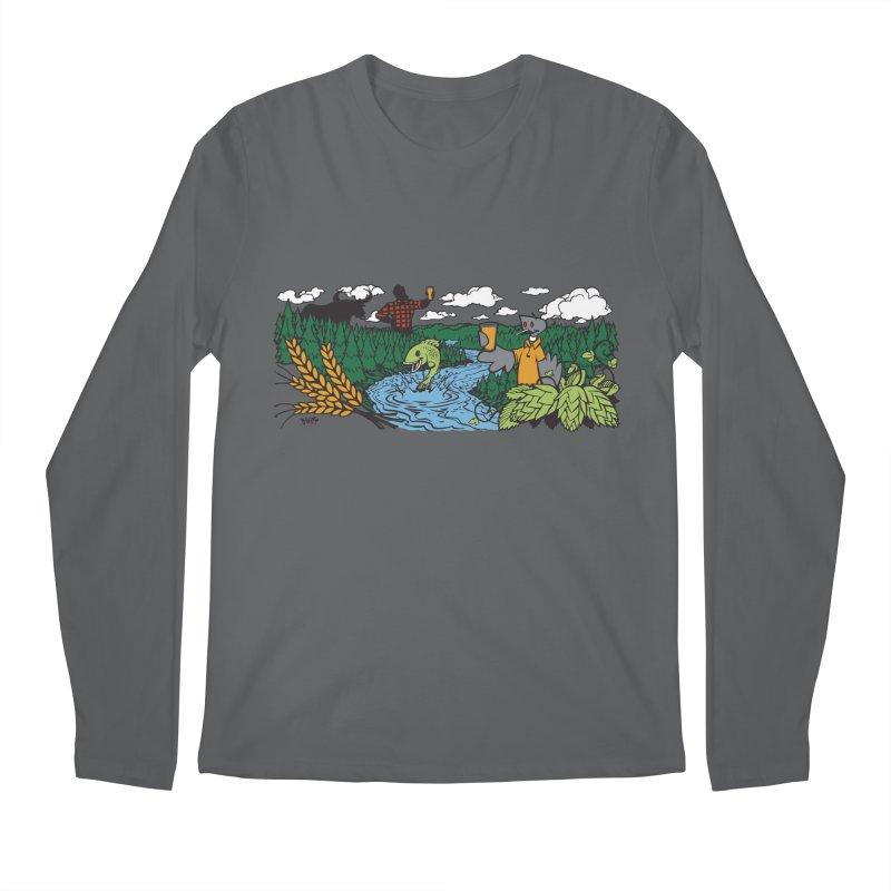 Heaven Must Be Near T Men's Longsleeve T-Shirt by bellyup's Artist Shop
