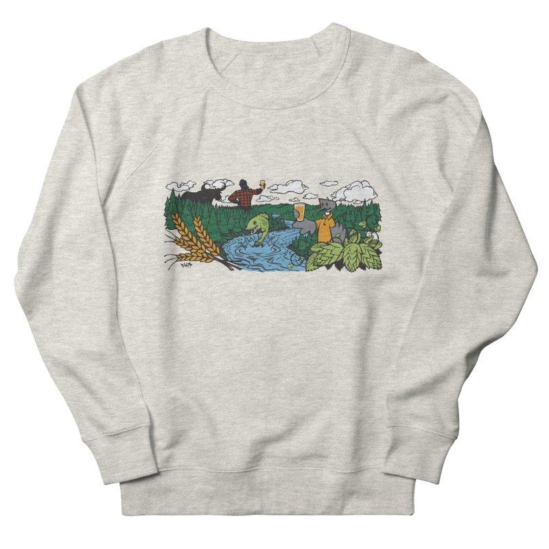 Heaven Must Be Near T Men's Sweatshirt by bellyup's Artist Shop