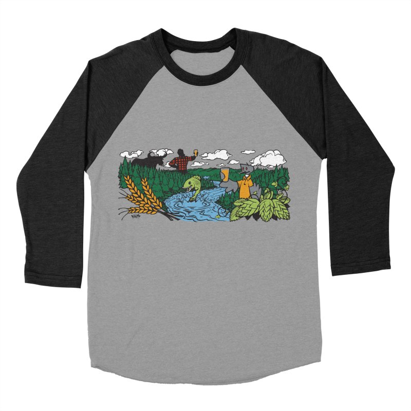Heaven Must Be Near T Men's Longsleeve T-Shirt by bellyup's Artist Shop