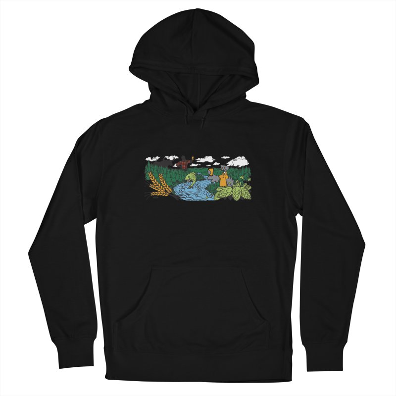 Heaven Must Be Near T Women's French Terry Pullover Hoody by bellyup's Artist Shop