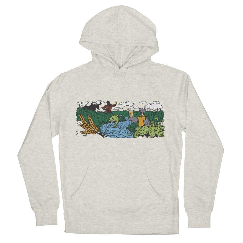 Heaven Must Be Near T Men's Pullover Hoody by bellyup's Artist Shop