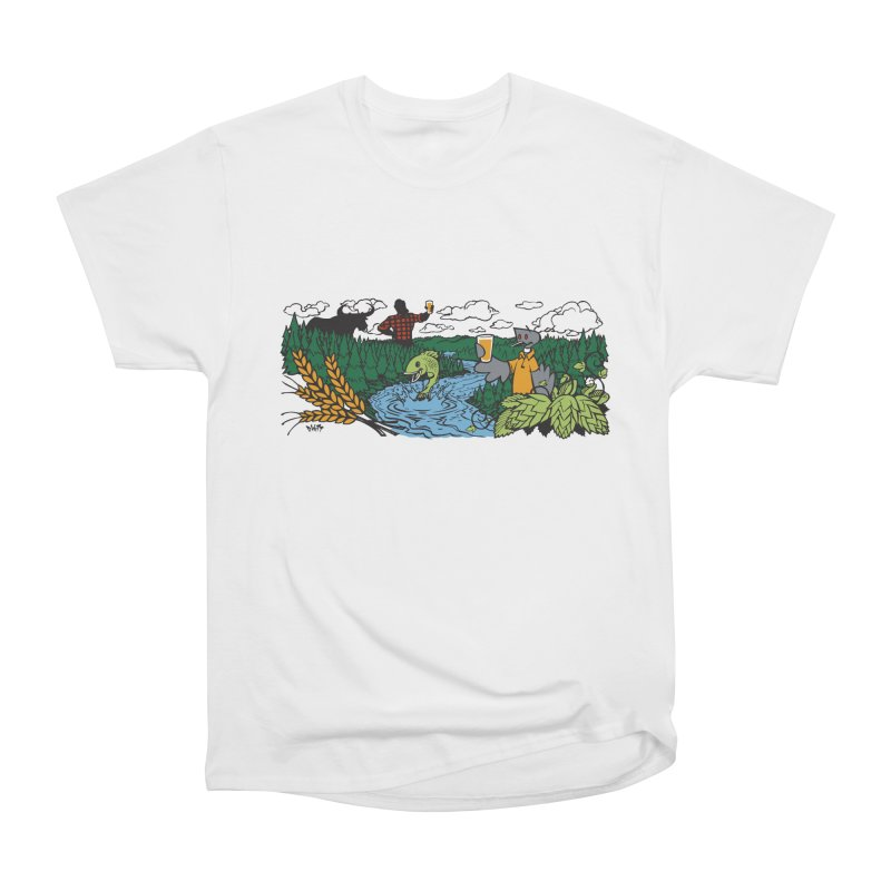 Heaven Must Be Near T Men's Heavyweight T-Shirt by bellyup's Artist Shop