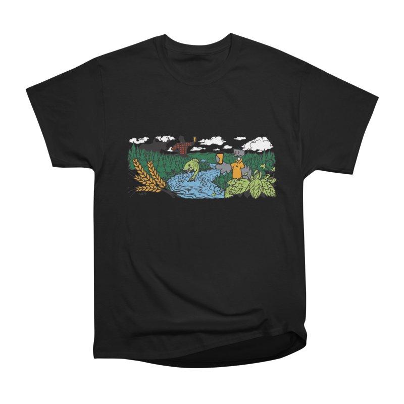 Heaven Must Be Near T Men's Heavyweight T-Shirt by bellyup's Artist Shop