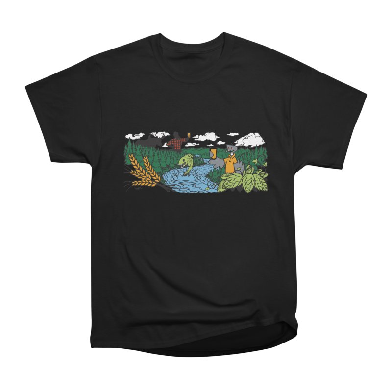 Heaven Must Be Near T Women's Heavyweight Unisex T-Shirt by bellyup's Artist Shop