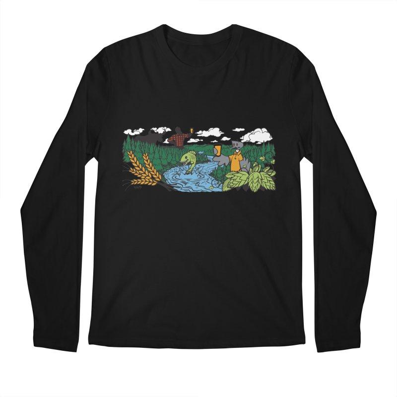 Heaven Must Be Near T Men's Regular Longsleeve T-Shirt by bellyup's Artist Shop