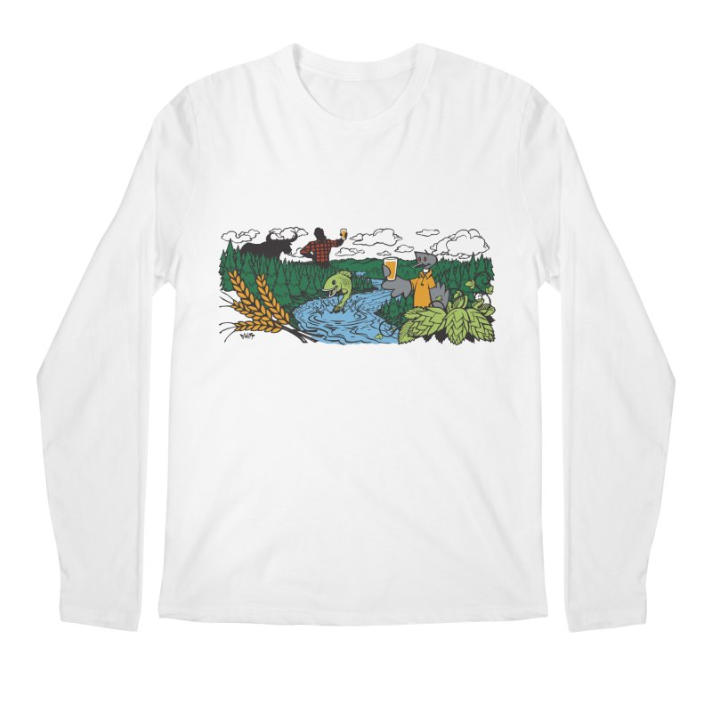 Heaven Must Be Near T Men's Regular Longsleeve T-Shirt by bellyup's Artist Shop