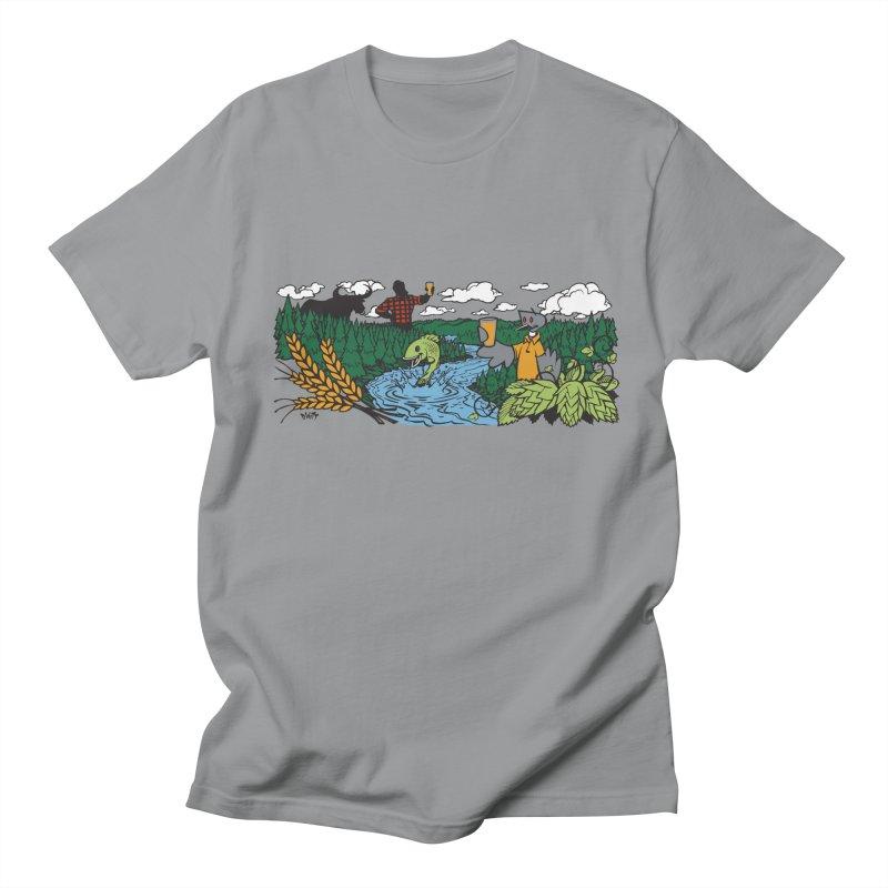 Heaven Must Be Near T Men's Regular T-Shirt by bellyup's Artist Shop