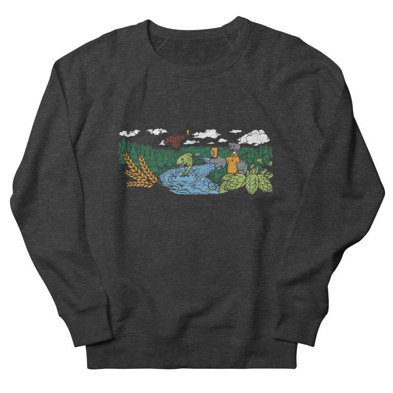 Heaven Must Be Near T Men's French Terry Sweatshirt by bellyup's Artist Shop