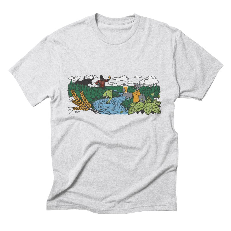 Heaven Must Be Near T Men's Triblend T-Shirt by bellyup's Artist Shop