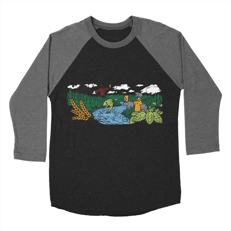 Heaven Must Be Near T Women's Baseball Triblend Longsleeve T-Shirt by bellyup's Artist Shop