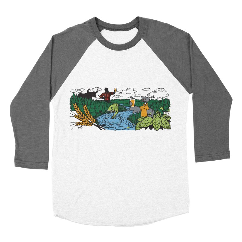 Heaven Must Be Near T Men's Baseball Triblend Longsleeve T-Shirt by bellyup's Artist Shop