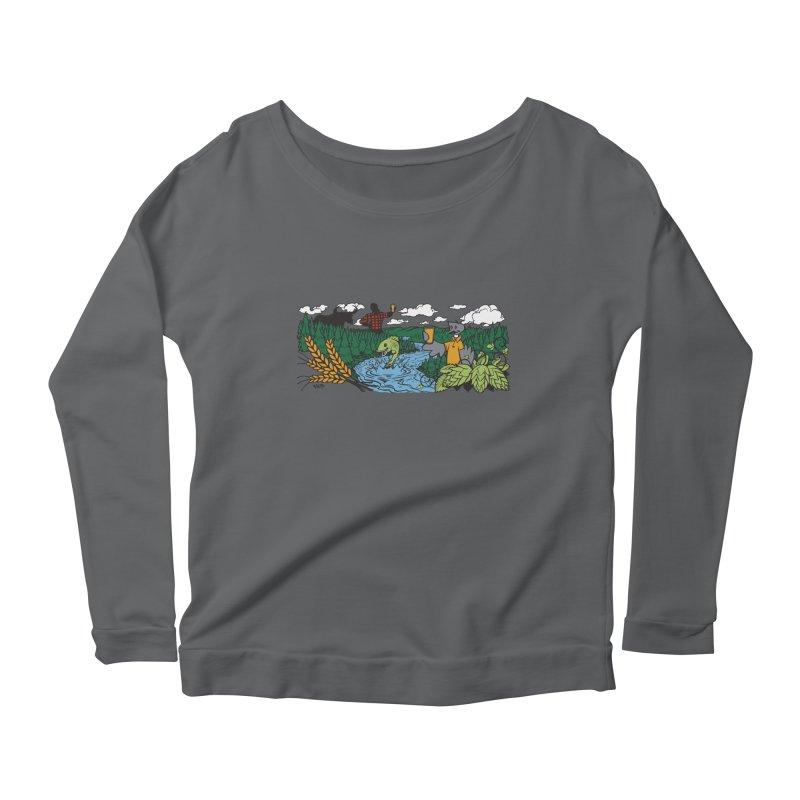 Heaven Must Be Near T Women's Longsleeve T-Shirt by bellyup's Artist Shop