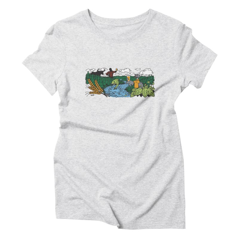 Heaven Must Be Near T Women's T-Shirt by bellyup's Artist Shop