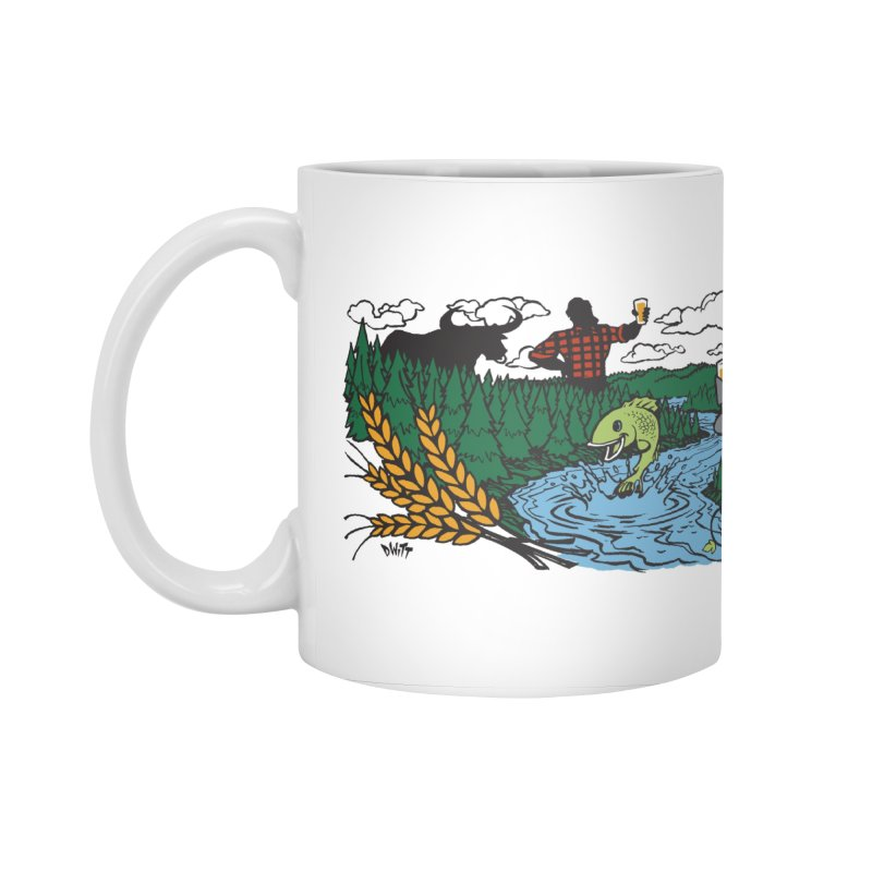 Heaven Must Be Near Accessories Standard Mug by bellyup's Artist Shop