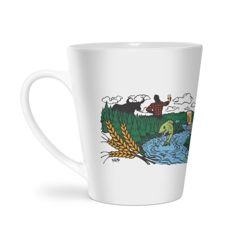 Heaven Must Be Near Accessories Latte Mug by bellyup's Artist Shop