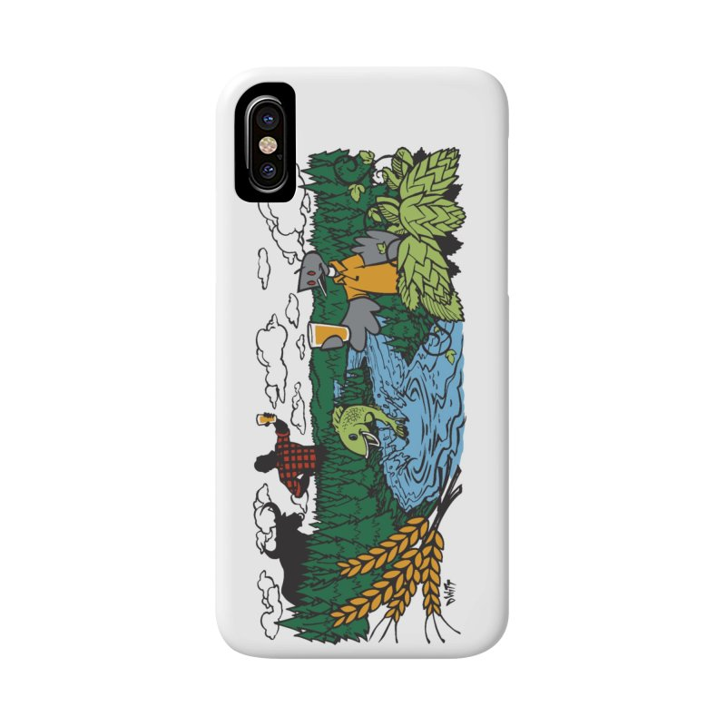 Heaven Must Be Near Accessories Phone Case by bellyup's Artist Shop