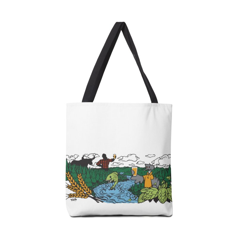 Heaven Must Be Near Accessories Tote Bag Bag by bellyup's Artist Shop