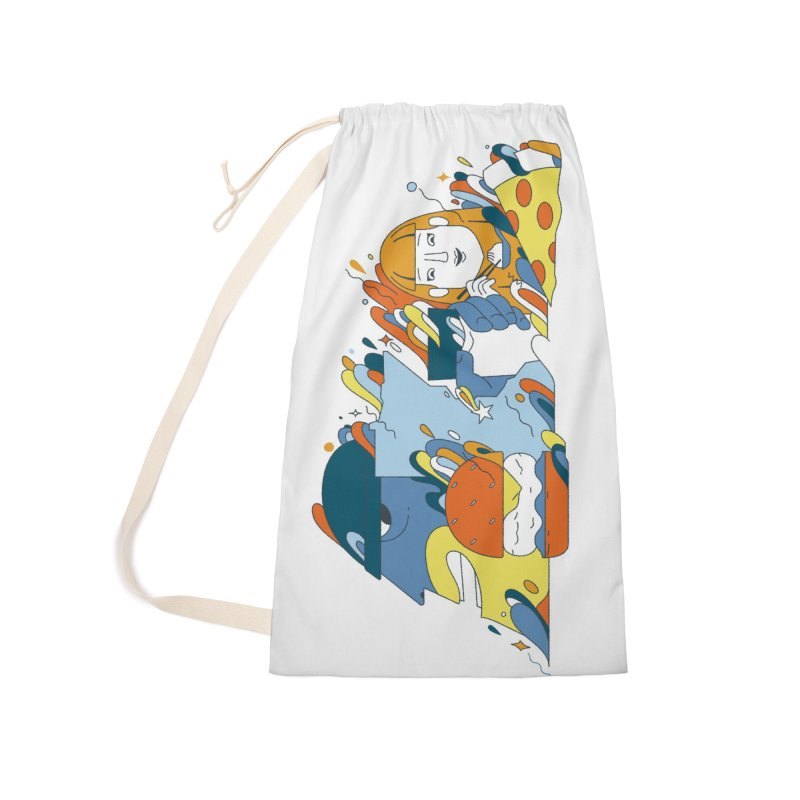 Color Me Impressed Accessories Laundry Bag Bag by bellyup's Artist Shop