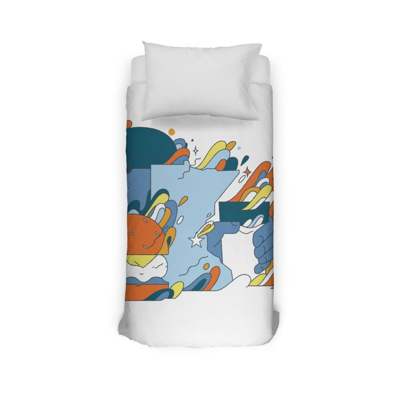 Color Me Impressed Home Duvet by bellyup's Artist Shop