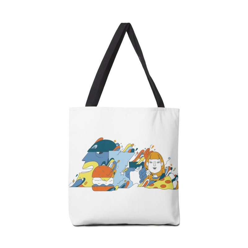 Color Me Impressed Accessories Tote Bag Bag by bellyup's Artist Shop