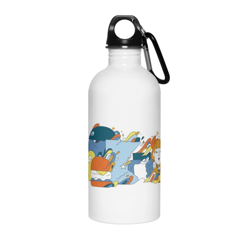 Color Me Impressed Accessories Water Bottle by bellyup's Artist Shop