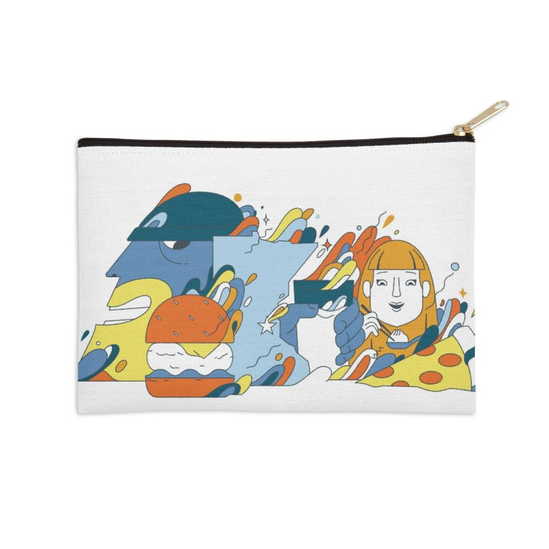Color Me Impressed Accessories Zip Pouch by bellyup's Artist Shop