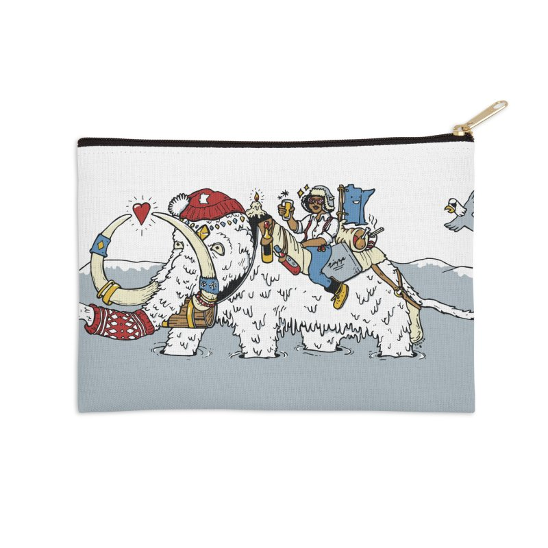 Knocked Out Loaded Accessories Zip Pouch by bellyup's Artist Shop